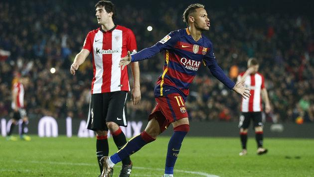 Celta de Vigo und Barca stehen im Cup-Halbfinale (Bild: AP)