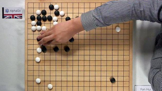 Google-Computer tritt gegen Go-Champion an (Bild: YouTube)