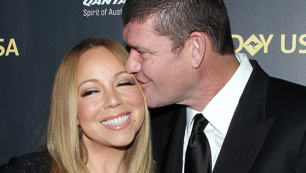 Mariah Carey und James Packer (Bild: Viennareport)