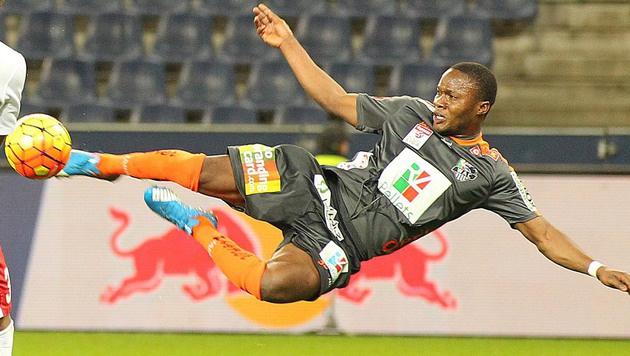 Ab nach Dubai! Topscorer Ouedraogo verlässt WAC (Bild: APA/KRUGFOTO)