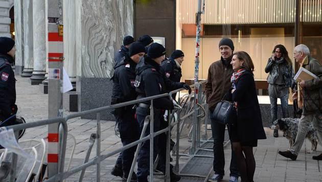 Akademikerball-Demos legten Wiener Innenstadt lahm (Bild: Reporter.co.at/Peter Berger)