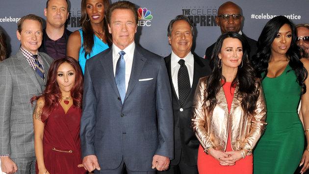 "Arnold Schwarzenegger ist der Big Boss in ""Celebrity Apprentice"" (Bild: Viennareport)"