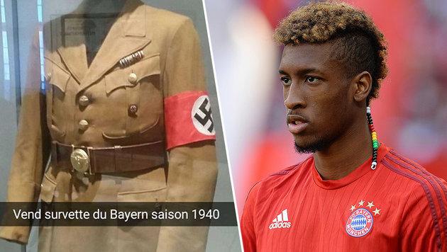 "Nazi-Bild ""geliked"": Shitstorm gegen Bayern-Star (Bild: AFP, instagram.com)"