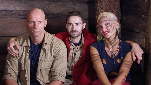 Die Finalisten Thorsten, Menderes und Sophia (Bild: RTL)