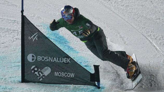 """Dujmovits trotz Daumenbruch """"so weit wie noch nie"""" (Bild: AP)"""