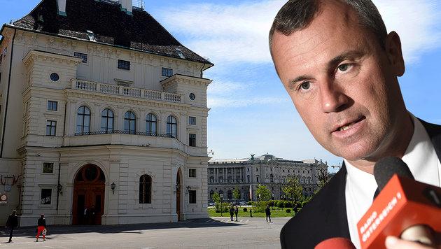 "FPÖ-Kandidat Hofer für ""Präsidentenkanzler"" (Bild: APA/ROLAND SCHLAGER, APA/HELMUT FOHRINGER)"