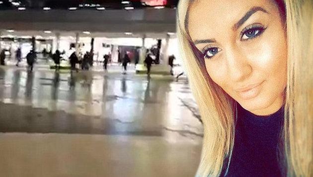 Frau erstochen: Maskierter Mob auf Flüchtlingsjagd (Bild: Daily Mail, YouTube.com)