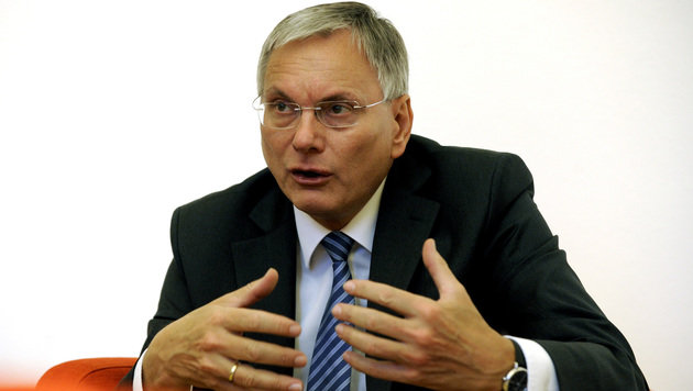 Gesundheitsminister Alois St�ger (Bild: APA/HERBERT PFARRHOFER)