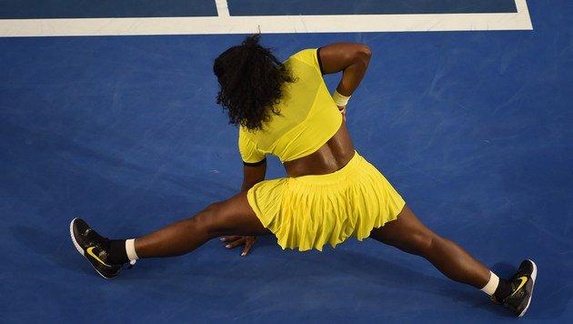 Sensation! Williams holt Graf-Rekord wieder nicht (Bild: APA/AFP/WILLIAM WEST)