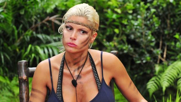 Sophia bei ihrer Dschungelprüfung (Bild: RTL)