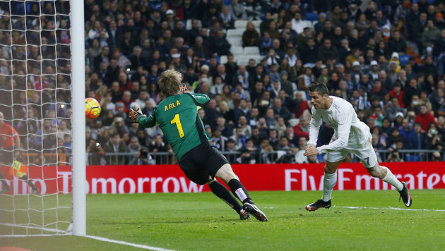 6:0-Gala im Video! Real Madrid erniedrigt Espanyol (Bild: AP)