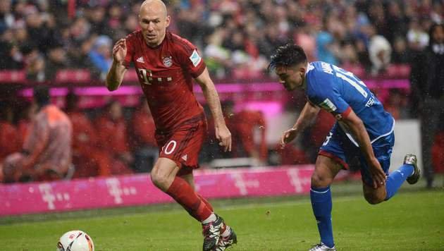 Lewandowski-Doppelpack für Bayern hier im Video (Bild: AFP or licensors)