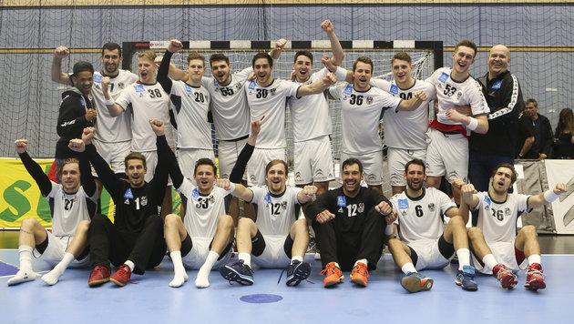 ÖHB-Team trifft im WM-Play-off auf Dänemark (Bild: GEPA)