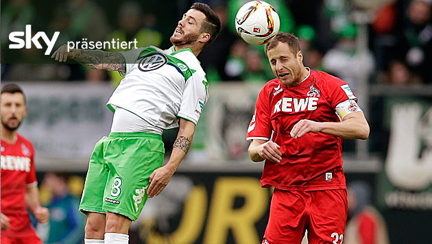 Video: Peter Stögers Kölner holen in Wolfsburg 1:1 (Bild: ASSOCIATED PRESS)