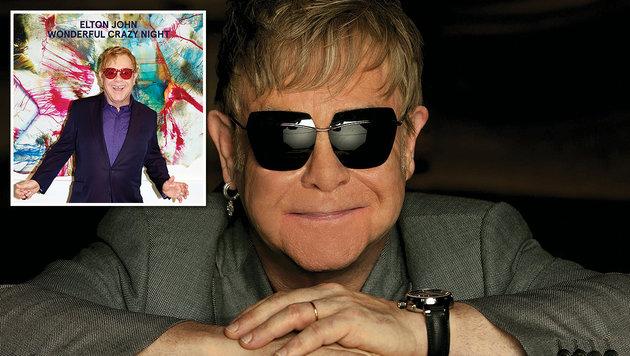 Elton John: Leichtfüßig zurück in die 70er-Jahre (Bild: Pressefoto, Universal Music)