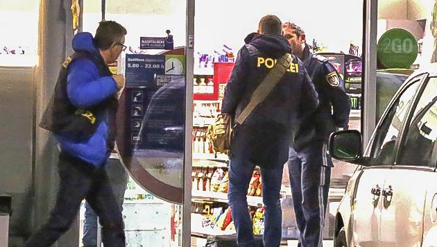 Quartett nach Überfall auf Tankstelle gefasst (Bild: MARKUS TSCHEPP)