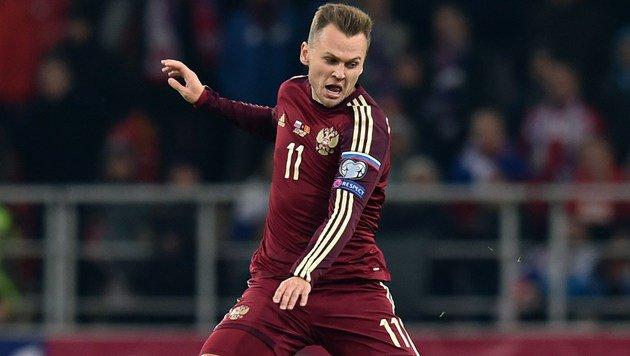 Rapid-Gegner Valencia holt Russen Tscheryschew (Bild: AFP)