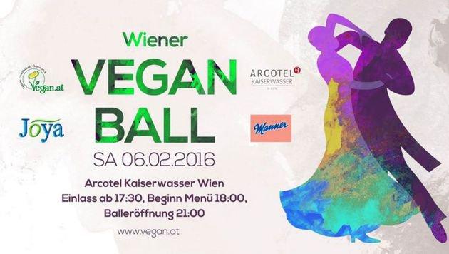 """""""Wiener Veganball"""" lockt mit Vier-Gänge-Menü (Bild: Vegane Gesellschaft Österreich)"""