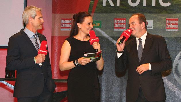EURO-Talk mit Herbert Prohaska, Michael Konsel und Marcel Koller (Bild: GEPA)