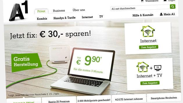 A1: DDoS-Attacken zwangen mobiles Netz in die Knie (Bild: a1.net)