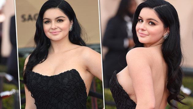 Ariel Winter zeigt stolz die Narben ihrer Brust-OP (Bild: Jordan Strauss/Invision/AP, APA/AFP/MARK RALSTON)
