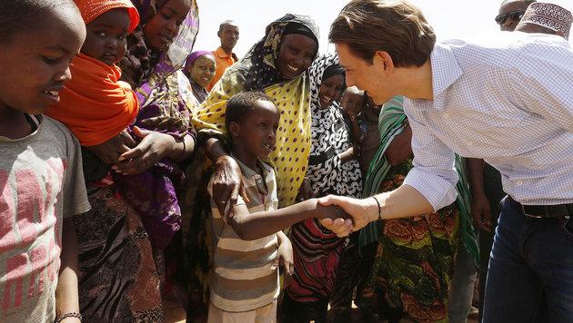 """Kurz warnt vor """"Millionen von Menschen"""" aus Afrika (Bild: APA/BMEIA/DRAGAN TATIC)"""