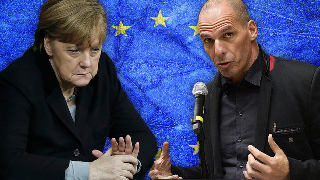 """Merkel hat Geheimplan zur Unterwerfung Europas"" (Bild: thinkstockphotos.de, AP, APA/ROBERT JAEGER)"