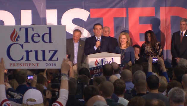 Ted Cruz: Der Mann, der Trump noch ausbremsen will (Bild: krone.tv)