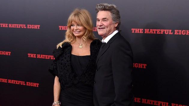 Goldie Hawn und Kurt Russell (Bild: AFP)