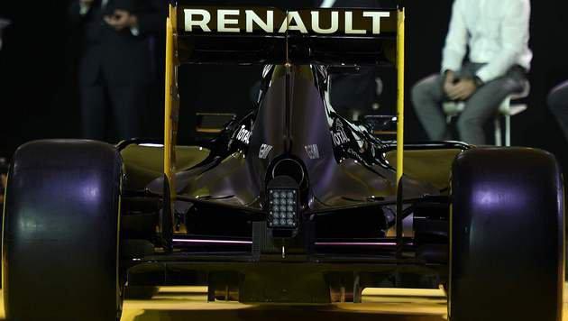 So sieht der neue Formel-1-Renner von Renault aus! (Bild: AFP or licensors)