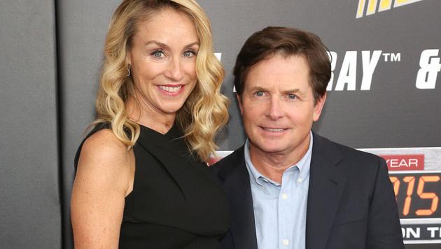 Michael J. Fox und Ehefrau Tracy Pollan (Bild: Viennareport)