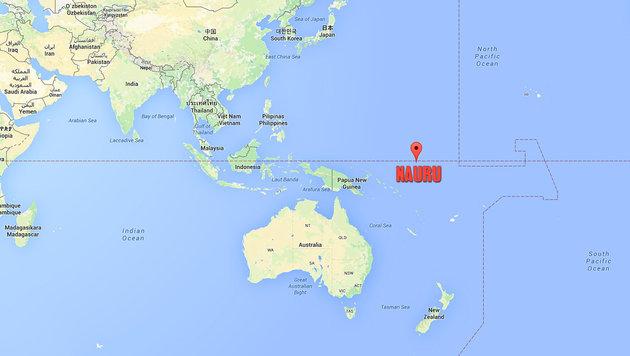 Australien schiebt Hunderte Migranten auf Insel ab (Bild: Screenshot Google Maps)