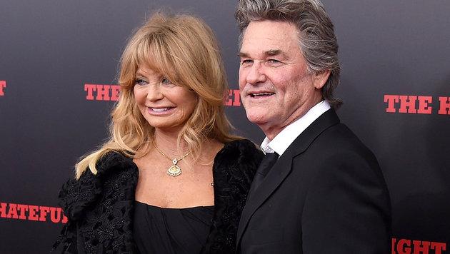 Goldie Hawn und Kurt Russell sind seit 1983 liiert. (Bild: AFP)