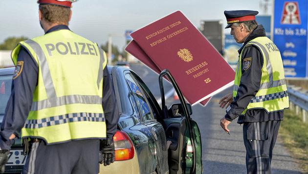 Einreise ohne Pass: �sterreicher m�ssen zahlen (Bild: APA/HERBERT NEUBAUER, thinkstockphotos.de)