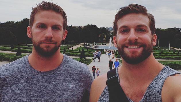 Diese Zwillinge schauen Bradley Cooper zum Verwechseln ähnlich. (Bild: instagram.com/katztwins)