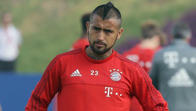 Vidal alkoholisiert in Katar? Bayern dementiert (Bild: AFP)