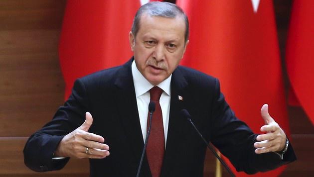 Der t�rkische Pr�sident Recep Tayyip Erdogan (Bild: APA/AFP/ADEM ALTAN)