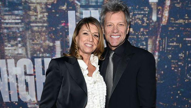 Jon Bon Jovi und Ehefrau Dorothea Rose Hurley (Bild: AFP)