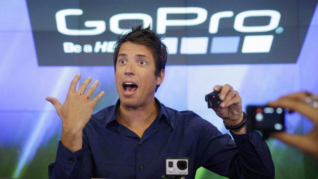 Minus reduziert: Bei GoPro läuft es wieder besser (Bild: AP)