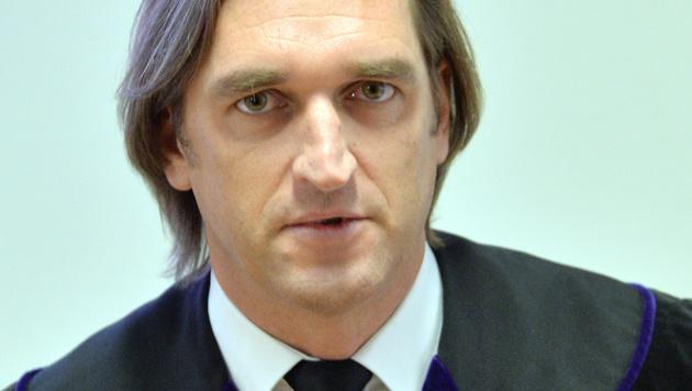 Richter Günther Nocker saß dem Schöffensenat vor. (Bild: APA/BARBARA GINDL)