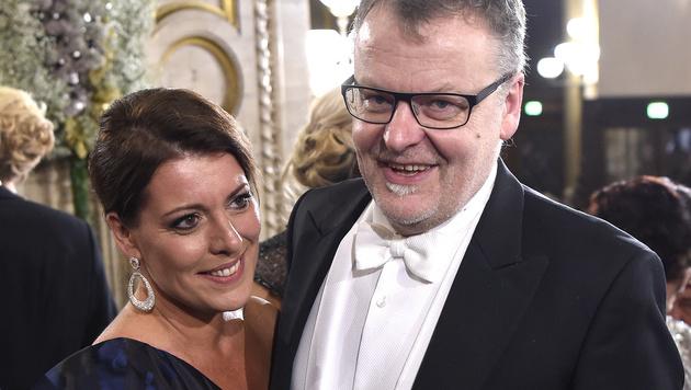 Stefan Ruzowitzky und Ehefrau Birgit (Bild: APA/HELMUT FOHRINGER)