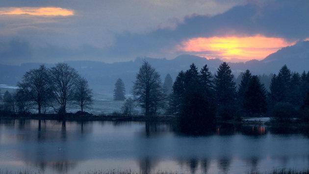 Sonne, Regen, Schnee: Wochenende wird wechselhaft (Bild: dpa/Karl-Josef Hildenbrand)