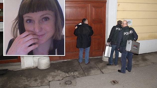 """Lauren M. wurde in ihrer Wohnung in Wien erstickt. (Bild: """"Krone"""", Andi Schiel)"""