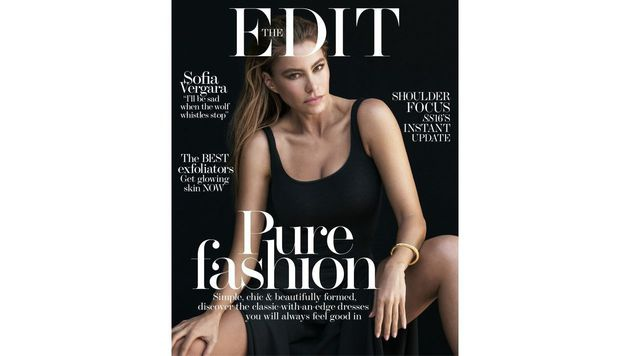 "Sofia Vergara am Cover des ""EDIT""-Magazins (Bild: Edit)"