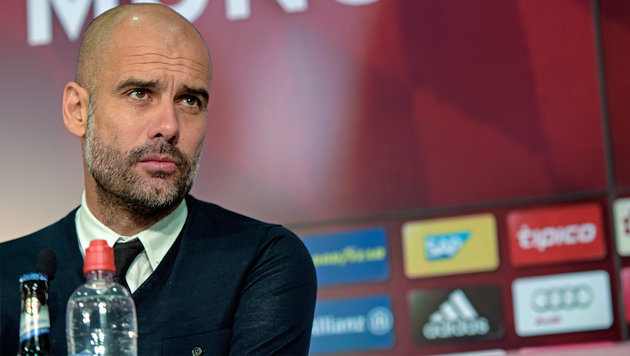 "Bayern-Trainer Guardiola: ""Ich bin wie eine Frau"" (Bild: GEPA)"