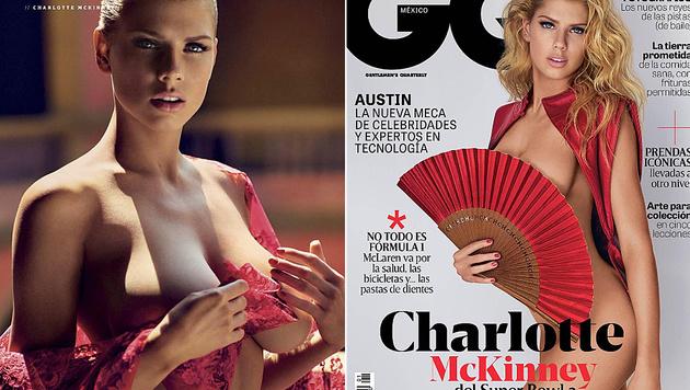 """Charlotte McKinney hat sich für die mexikanische """"GQ"""" ausgezogen. (Bild: instagram.com, instagram.com/charlottemckinney)"""