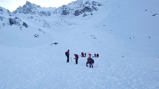 F�nf Tote bei Lawinenabgang in Tirol (Bild: APA/ZOOM.TIROL (Symbolbild))