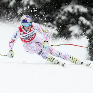 Garmisch: Lindsey Vonn deklassiert die Konkurrenz (Bild: GEPA)