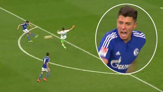 Video: Hier erzielt Schöpf erstes Tor für Schalke (Bild: SKY DE)
