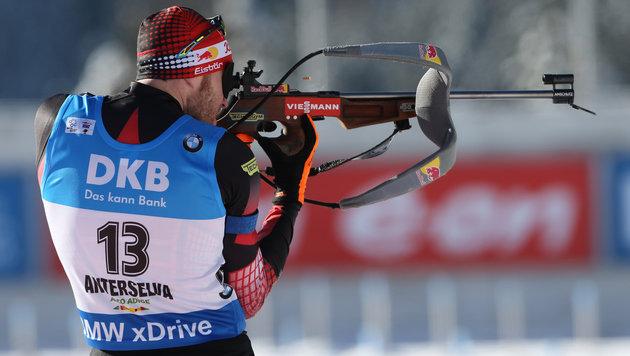 Biathlon: Platz zwei für Österreich in Canmore! (Bild: GEPA pictures)